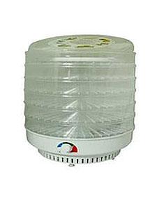 Электросушилка Ветерок 5лотков прозрачная гофра